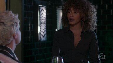 Gisele quer descobrir os planos de Diogo - Willian fica feliz por ter ajudado Silvana