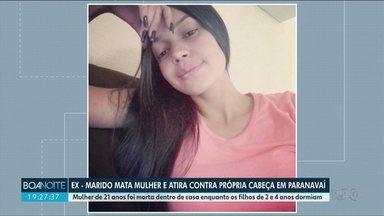 Está em estado grave o homem que matou a ex-mulher e tentou suicídio, em Paranavaí - A jovem de 21 anos foi morta em casa.