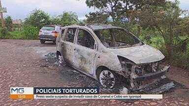 Polícia prende sexto suspeito de participação na tortura de PMs em Igarapé, na Grande BH - Wendel Figueiredo da Silva, de 18 anos, prestou depoimento à Polícia Civil. Outros três suspeitos morreram em tiroteio com a polícia.