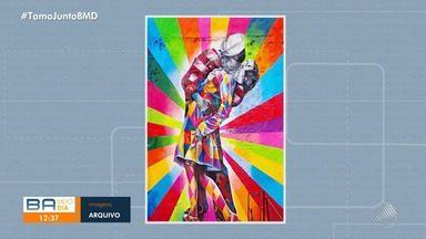 Um dos maiores nomes do grafite mundial pinta mural da Santa Dulce dos Pobres em Salvador - Eduardo Kobra vai fazer o primeiro mural na capital baiana.