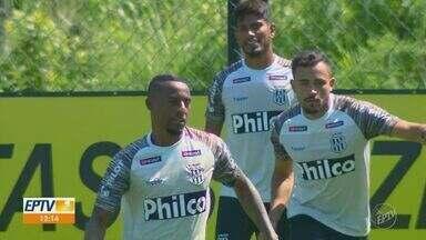 Ponte Preta apresenta Guilherme Lazaroni, Cléber Reis e Wellington Carvalho - O time contratou novos jogadores para a defesa e quer resolver problema na lateral.