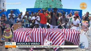 Verão: 'Movimento do Beto' promete agitar baianos e turistas nesta quarta, no Pelourinho - No início desta tarde, o grupo se apresenta na Praça Municipal.