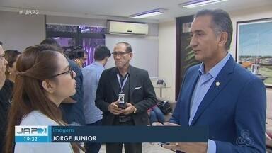 Governador Waldez Góes destaca obras na saúde em balanço do 1º ano no 2º mandato - Novo HE na Zona Norte e ampliação do atual Hospital de Emergência foram anunciados em coletiva à imprensa.