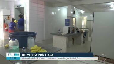 Idosos do Asilo do Carmo retornaram à instituição - O lugar passou por obras de revitalização e ampliação.