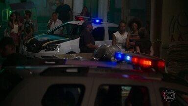 Waguinho e Alice prestam depoimento a polícia sobre a morte de Jeniffer - A morte de Jeniffer deixa todos chocados e abalados