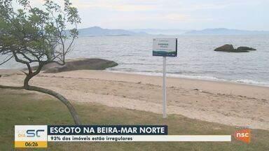 93% dos imóveis estão irregulares na Beira-mar Norte em Florianópolis - 93% dos imóveis estão irregulares na Beira-mar Norte em Florianópolis