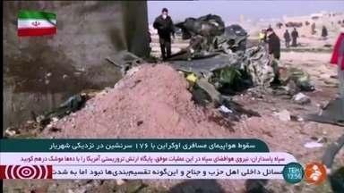 Governo dos EUA anuncia novas sanções contra o Irã - Anuncio acontece um dia depois de os Estados Unidos declararem que o avião da Ukraine Airlines, que caiu em Teerã, pode ser sido abatido por um míssil iraniano.