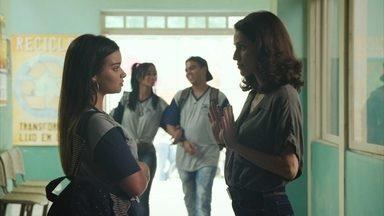 Nanda revela sua situação médica para Neide - Marquinhos ouve sobre as crises de ansiedade de Nanda e ironiza a jovem