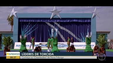 """Conheça os """"Cheerleaders"""" de Nova Friburgo, no RJ - Modalidade de Lideres de Torcida faz sucesso no interior do Rio."""