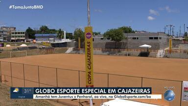 Copa Cajazeiras começa neste fim de semana; Competição tem transmissão ao vivo no GE.com - Confira.