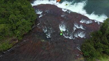 Expedição Brasil se aventura em corredeiras de três rios diferentes - Expedição Brasil se aventura em corredeiras de três rios diferentes