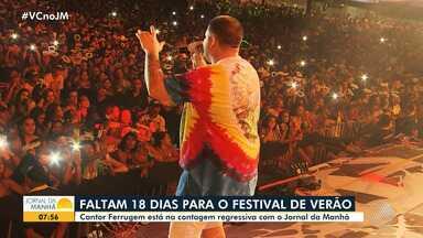 Ferrugem é uma das atrações confirmadas no Festival de Verão 2020 - A festa acontece no mês de fevereiro, em Salvador.