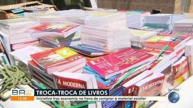 Troca-troca de livros gera preço mais em conta do material escolar - Saiba como doar os livros.