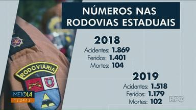 PRE divulga balanço de ocorrências nas rodovias do noroeste em 2019 - O número de acidentes diminuiu em comparação ao ano anterior.