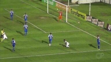 São Bento é eliminado da Copa São Paulo de Futebol Júnior - O São Bento foi eliminado da Copa São Paulo de Futebol Júnior no jogo contra o Coritiba, na terça-feira (14).