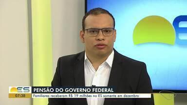 Familiares de servidores públicos que morreram receberam R$19 milhões no ES só em dezembro - A maior pensão foi de R$ 64 mil.
