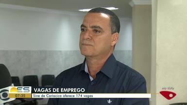 Sine de Cariacica oferece 174 vagas de emprego, no ES - Vagas estão disponíveis nesta quarta-feira, 15 de janeiro.