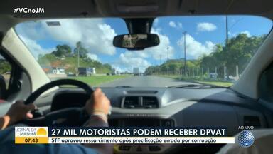 STF aprova ressarcimento após precificação errada do DPVAT por corrupção - A partir desta quarta-feira (15), os 27 mil motoristas podem pedir a restituição da diferença dos valores cobrados no ano de 2019.
