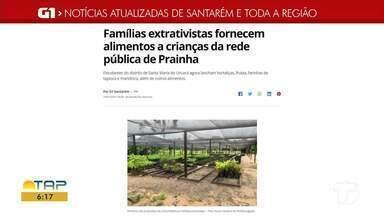 Distribuição de merenda escolar a crianças de Prainha é destaque no G1 Santarém e região - Acesse essa e outras notícias pelo celular, tablet ou computador.