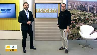 Thiago Barbosa fala sobre o esporte em Sergipe - Thiago Barbosa fala sobre o esporte em Sergipe.