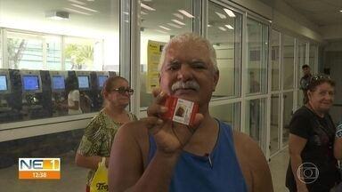 VEM Idoso: veja como é possível fazer o cartão - Alguns idosos enfrentaram dificuldade com o agendamento pela internet.