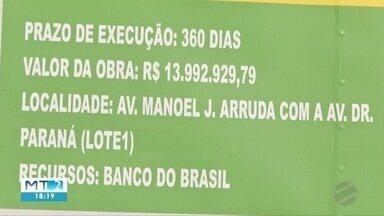 Avenida Beira Rio, em Cuiabá, terá uma pista interditada - Avenida Beira Rio, em Cuiabá, terá uma pista interditada