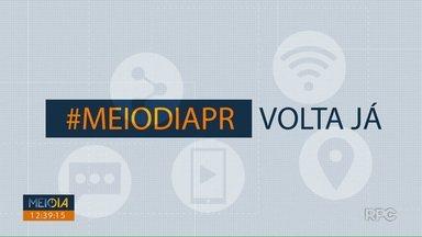 Telespectadores chamam o intervalo do Meio Dia Paraná - Participe pelo 9 99725178.