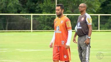 Tombense mantém base e aposta em experiência para ter sucesso em 2020 - Gavião segurou jogadores, como goleiro Felipe e meia Ibson. Rubens espera boa temporada novamente em Tombos.