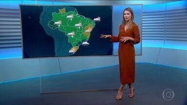 Veja a previsão do tempo para a sexta-feira (17) - Há chance de ventos fortes para o estado do Rio.