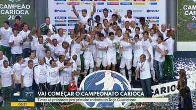 Times prontos para o Campeonato Carioca - A bola vai rolar no sábado já com Flamengo e Botafogo em campo. Vasco e Fluminense jogam no domingo.