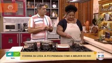 Conheça a receita de uma das coxinhas mais famosas do Rio de Janeiro - A cozinheira Luiza Souza ensina sua receita