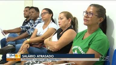 Professores de Pindaré-Mirim alegam atrasos nos salários - Categoria não recebeu o salário do mês de dezembro de 2019 e afirma que não é só isso que está atrasado.