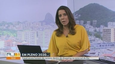 RJ1 - Íntegra 18/01/2020 - O telejornal, apresentado por Mariana Gross, exibe as principais notícias do Rio, com prestação de serviço e previsão do tempo.