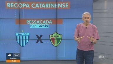 Roberto Alves comenta sobre as atualizações dos times catarinenses - Roberto Alves comenta sobre as atualizações dos times catarinenses