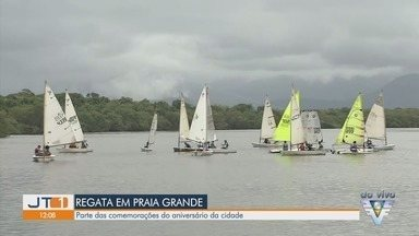 Regata no Portinho faz parte de comemoração do aniversário de Praia Grande - Cidade comemora 53 anos neste domingo (19).