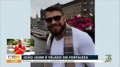 Professor que faleceu na Colômbia é velado em Fortaleza - Saiba mais em g1.com.br/ce