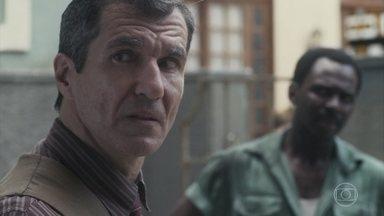 Osório demite Alfredo e Tião - Ele avisa que não quer ver nenhum dos dois na oficina