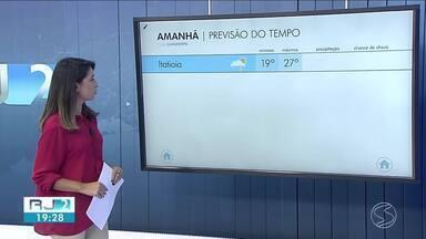 Domingo será de tempo instável no Sul do Rio de Janeiro - Temperaturas seguem amenas para os padrões normais de janeiro.