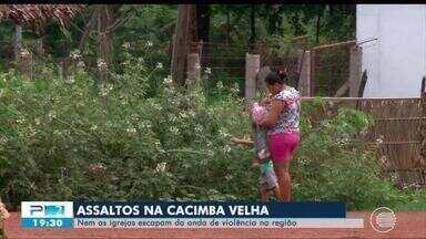 Moradores reclamam de insegurança no povoado Cacimba Velha - Moradores reclamam de insegurança no povoado Cacimba Velha