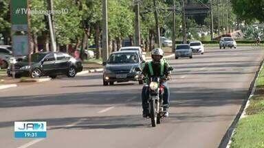 Cresce número de pessoas que trabalham utilizando motos ou carros no Tocantins - Cresce número de pessoas que trabalham utilizando motos ou carros no Tocantins