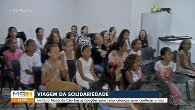 Instituto pede ajuda para viagem de crianças do Jardim Canguru para SP - Campanha também arrecada mochilas para crianças do Jardim Canguru