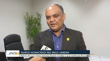 Delegado-geral fala sobre investigações de morte de casal em Rio Branco - Delegado-geral fala sobre investigações de morte de casal em Rio Branco