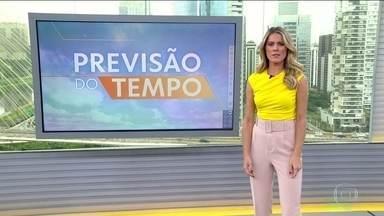 Ciclone subtropical pode provocar temporal e ventos fortes em parte do Sudeste - O risco é para o Espírito Santo e parte de Minas Gerais. Em São Paulo e no Rio de Janeiro, pode chover com menos intensidade. A previsão de chuva forte é para quase todo o Centro-Oeste.