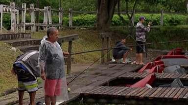 Parque Ecológico de Itaquaquecetuba passa a oferecer pesca - Para participar das atividades de pesca é necessário fazer um cadastro na administração do parque.