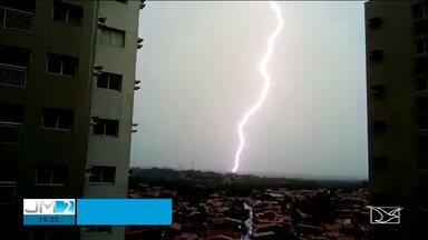 Com período chuvoso, aumentam os riscos de raios no Maranhão - Alerta vale por conta das previsões de fortes chuvas.