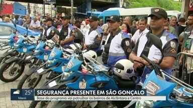 Programa Segurança Presente chega a São Gonçalo - Patrulhamento ficará nos bairros de Alcântara e no Centro.