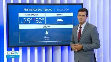 Confira a previsão do tempo para Salvador e interior do estado no final de semana - A previsão é de chuva em praticamente toda Bahia.