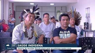Semana de reuniões discute plano de saúde indígena - Semana de reuniões discute plano de saúde indígena
