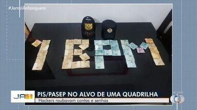 Suspeitos de fraudar Pis/Pasep são detidos em Goiânia - Segundo a polícia, eles hackeavam as contas das vítimas.