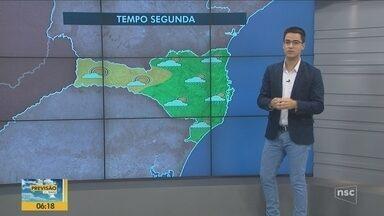 Confira a previsão do tempo para esta segunda em Santa Catarina - Confira a previsão do tempo para esta segunda em Santa Catarina